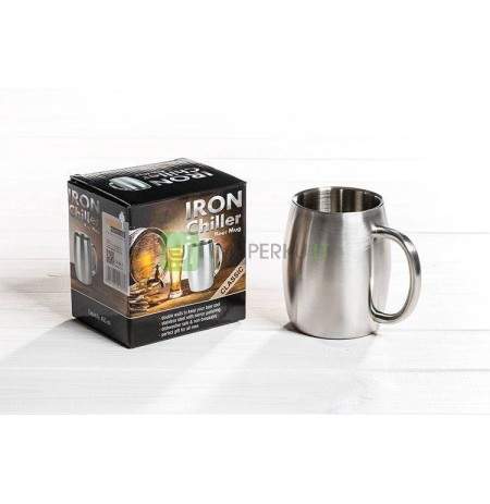 Beer mug IRON CHILLER (double wall) - classic