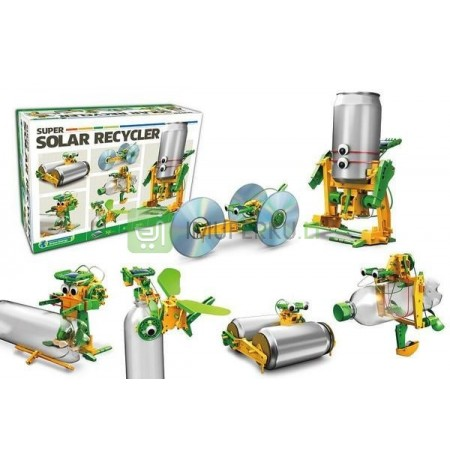 Konstruktorius Solar Kit 6in1