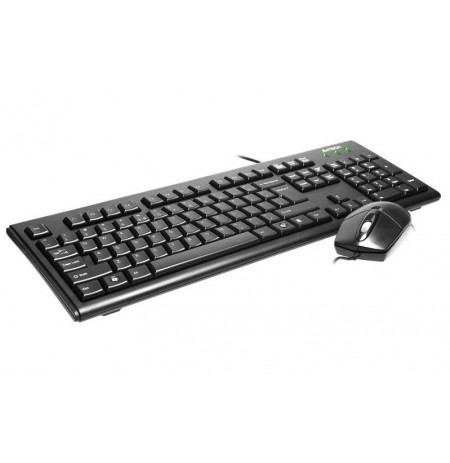 A4Tech Mouse & Keyboard KRS-8372 black 43775