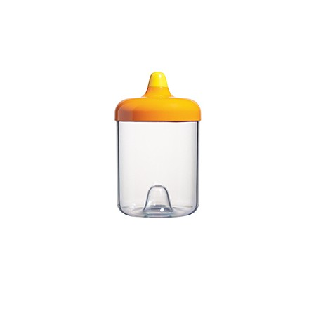 ViceVersa round canister 1L orange 11322