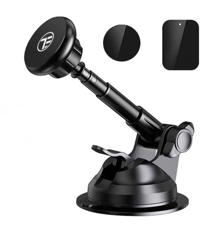 Tellur Phone Holder Magnetic, Suction Cup Mount, Adjustable, MUM, black
