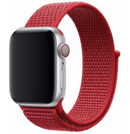 Devia Deluxe Series Sport3 Band (40mm) for Apple Watch red