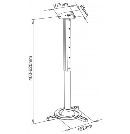 Sbox Projector Ceiling Mount PM-102L