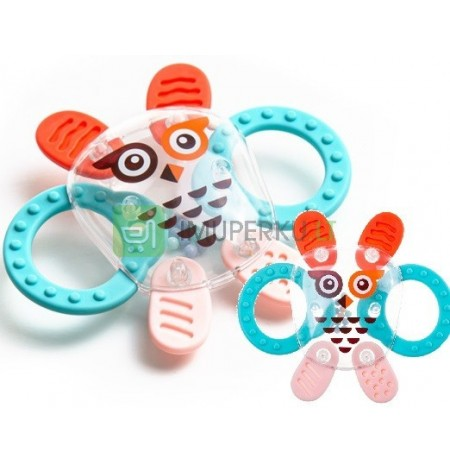 AKUKU LIGHT RATTLE SOFT TEETH COSMO