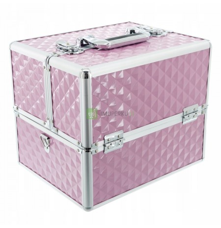 Cosmetic suitcase 3D suitcase for cosmetics lamp