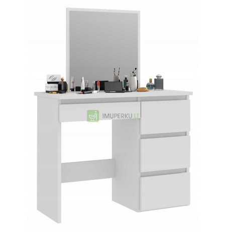 TOILET WITH MIRROR WITH DRAWERS FOR MAKE-UP