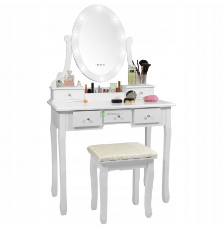 COSMETIC TOILET WITH LED LIGHTING MODEL 2020