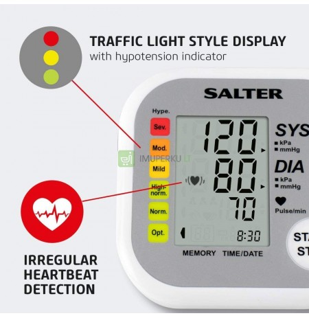 Salter BPA-9201-EU Automatic Arm Blood Pressure Monitor