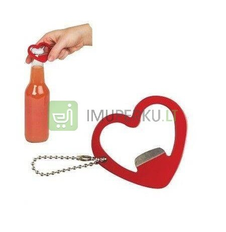 Bottle opener Heart
