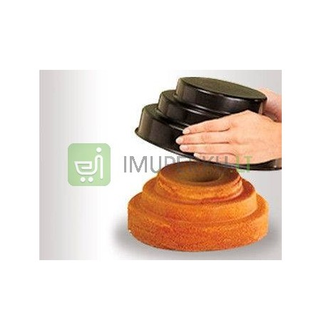 Bake & fill mould